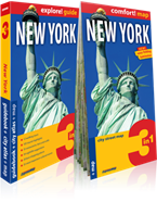 New York 3 in 1. Guidebook + city atlas + map