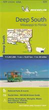 USA nr 177. Deep South. Mississippi to Florida. Ma