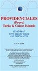 Providenciales. Turks and Caicos Islands. Mapa samochodowa 1:25 000