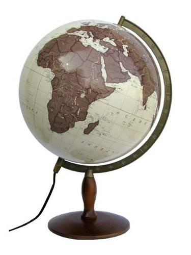 globus antyczny dekoracyjny 42 cm pod wietlany globusy du e 42 50 cm pod wietlane. Black Bedroom Furniture Sets. Home Design Ideas