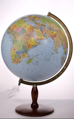 globus polityczny dekoracyjny 42 cm globusy du e 42 50 cm niepod wietlane. Black Bedroom Furniture Sets. Home Design Ideas