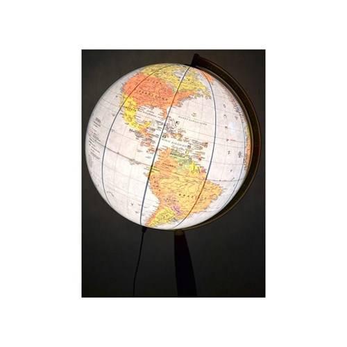 globus polityczny stylowy 42 cm pod wietlany globusy du e 42 50 cm pod wietlane. Black Bedroom Furniture Sets. Home Design Ideas