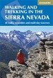 Walking and trekking in the Sierra Nevada. 38 walks, scrambles and multi-day traverses. Przewodnik trekingowy