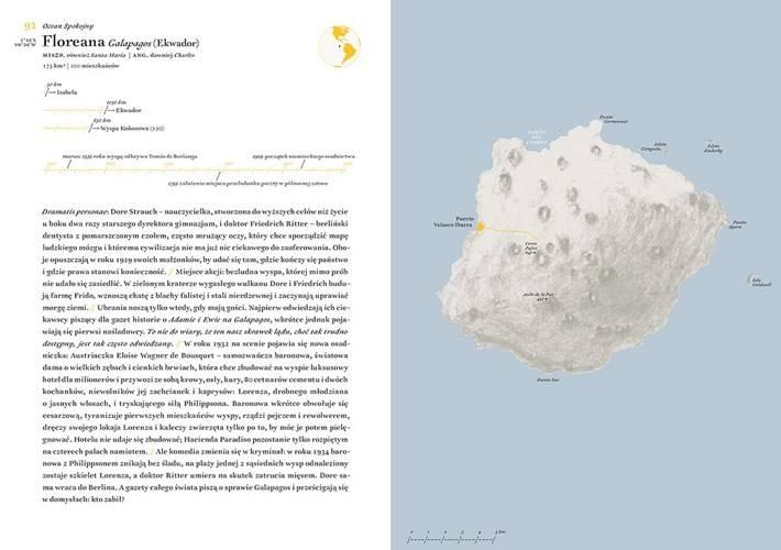 Atlas wysp odległych. | Literatura \ Albumy | Księgarnia Podróżnika