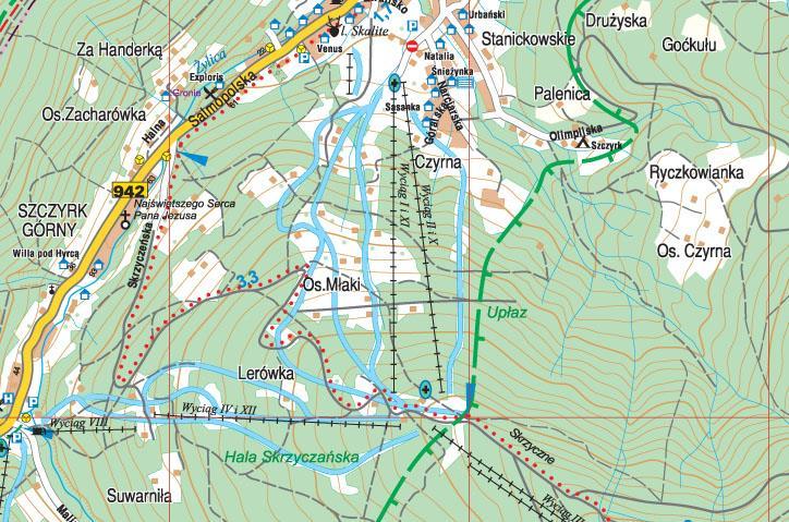 Beskid Zywiecki Czesc Zachodnia Wodoodporna Mapa Turystyczna 1