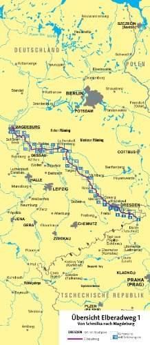 Elberadweg 1 Nr 7001 Von Schmilka Nach Magdeburg Mapy I Atlasy