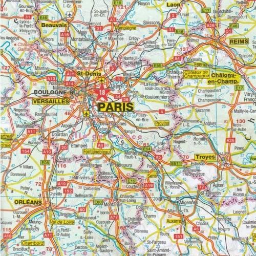 Europa Mapa Samochodowa 1 2 500 000 Mapy I Atlasy Samochodowe
