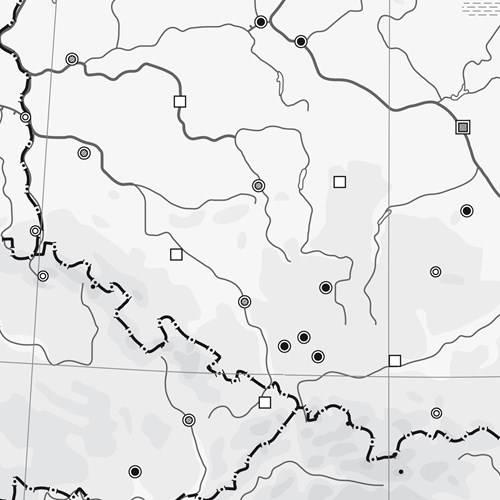 Mapa Konturowa Europy Do Wydruku