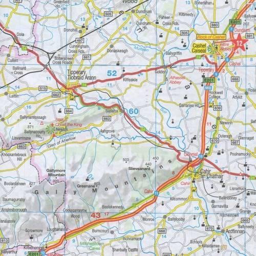 Irlandia Mapa Samochodowa 1 300 000 Mapy I Atlasy Samochodowe