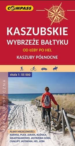 Niewiarygodnie Kaszubskie wybrzeże Bałtyku. Mapa turystyczna | Mapy i Atlasy VF79