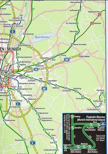 Mapa bawaria Bavaria