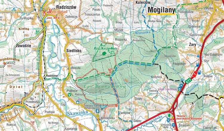Mapa Skladana Okolic Krakowa Czesci Polnocnej