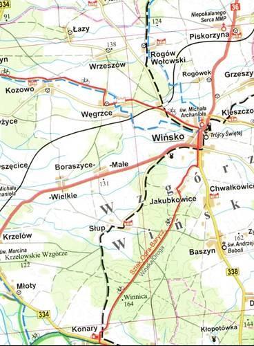 Okolice Wroclawia Mapa Turystyczna 1 100 000 Mapy I Atlasy