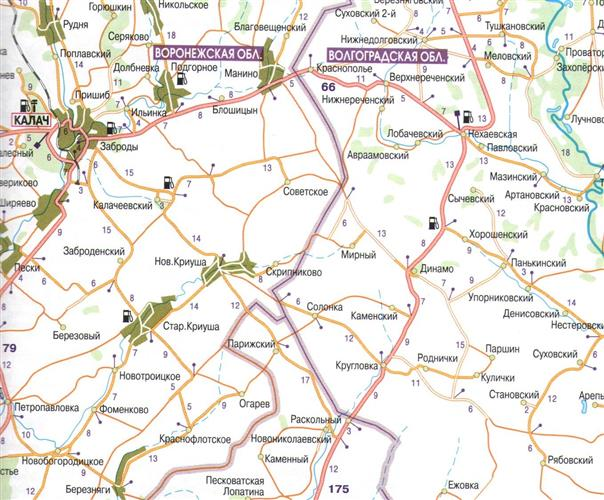 Rosja Od Moskwy Do Soczi Mapa Samochodowa Mapy I Atlasy