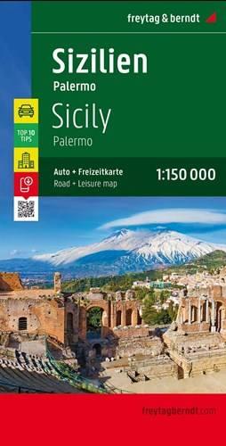 Sycylia Palermo Mapa Samochodowa 1 150 000 Mapy I Atlasy