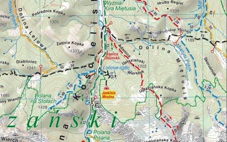 Tatry Wysokie Polskie I Slowackie Mapa Turystycz Mapy I Atlasy