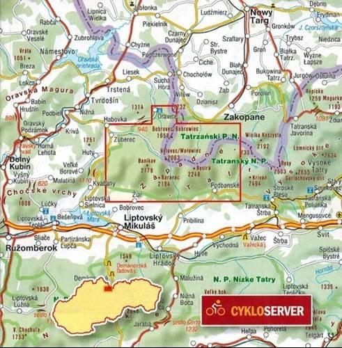 Tatry Zachodnie 702 Mapa Turystyczna 1 25 000 Mapy I Atlasy
