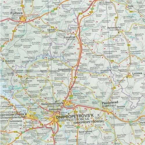 Ukraina Mapa Samochodowa 1 1 000 000 Mapy I Atlasy