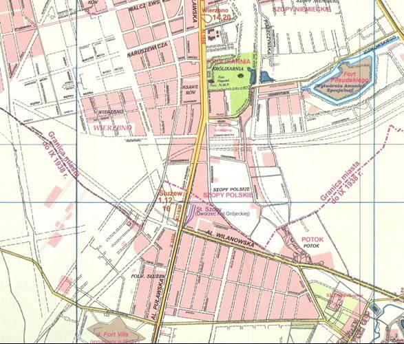 Warszawa Przedwojenna Plan Miasta Z 1939r 1 20 00 Mapy I Atlasy