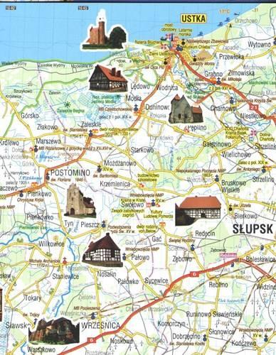 Super Wybrzeże Bałtyku. Mapa turystyczna 1:190 000 | Mapy i Atlasy MX13