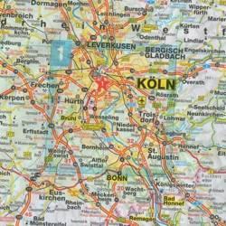 Kolonia mapa niemcy europy Wszystkie miasta